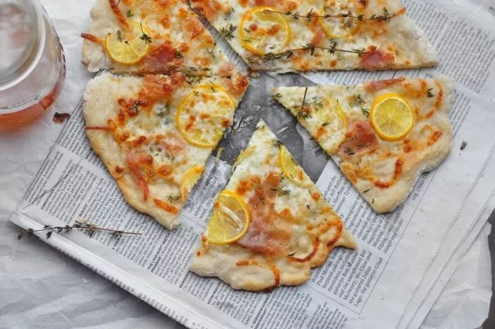pizza lemon