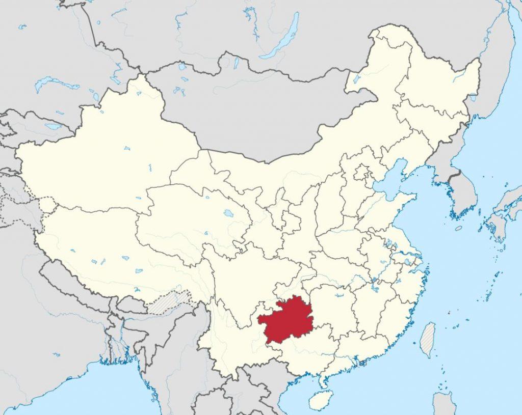 guizhou map