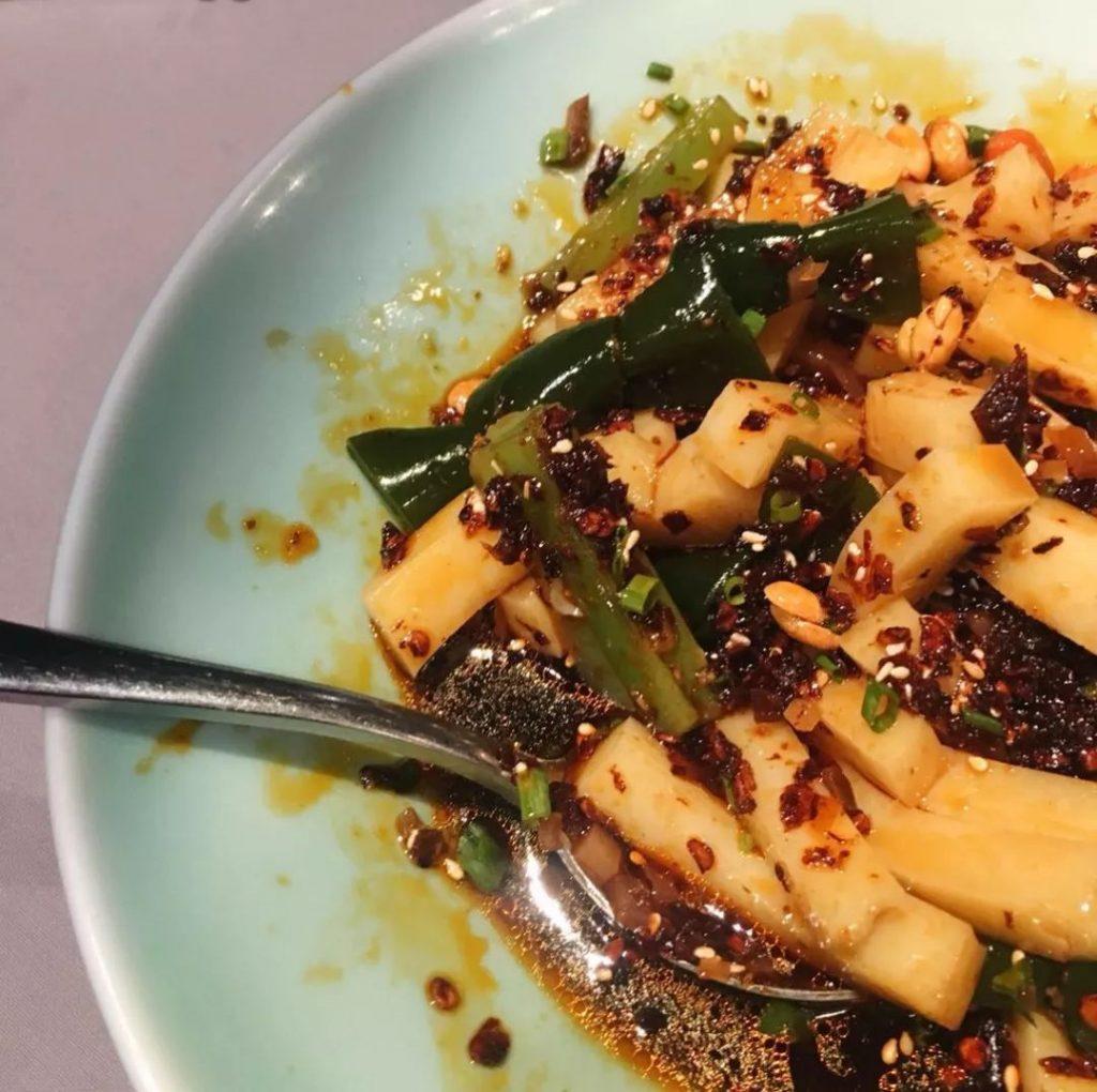 qian tofu & peanuts