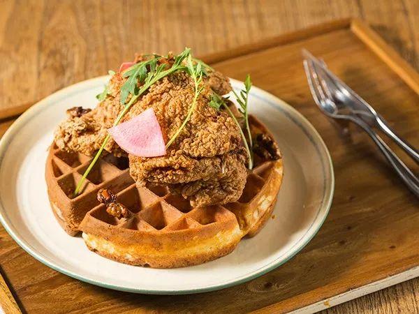 sweet & savoury waffle