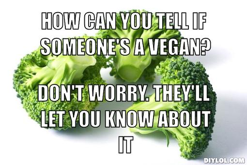 tell if someone is a vegan