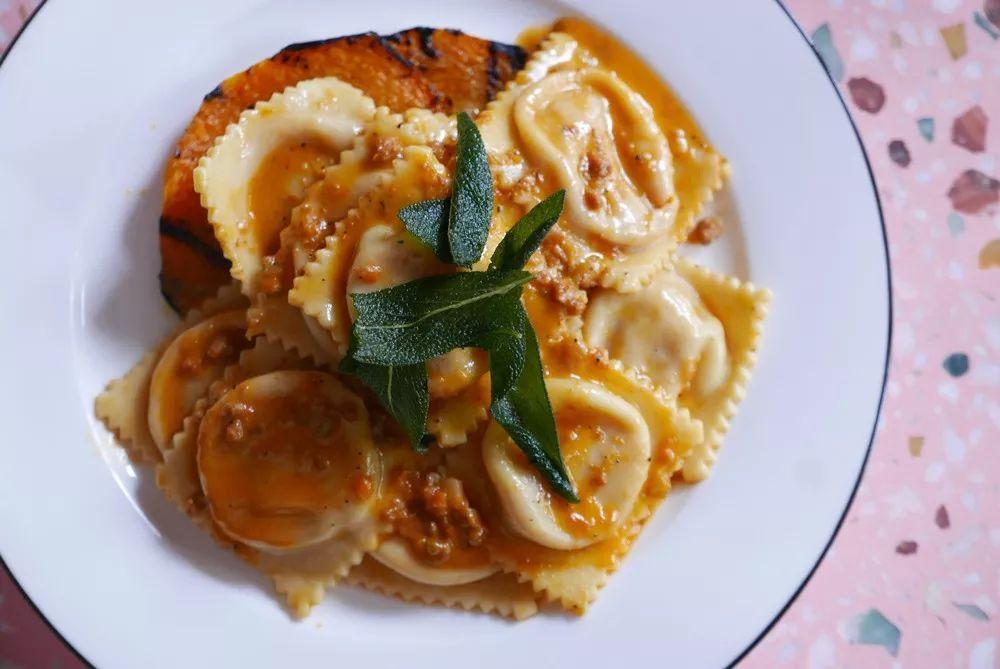 mito pumpkin ravioli