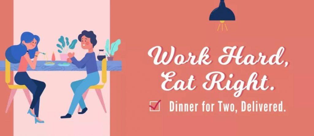 work hard eat right