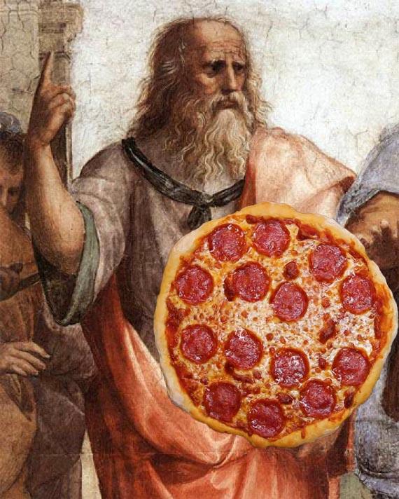 plato pizza